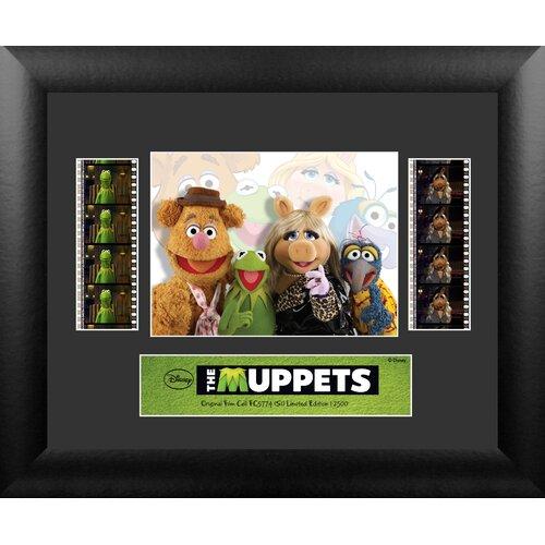 Muppets 2011 Double FilmCell Presentation Framed Memorabilia