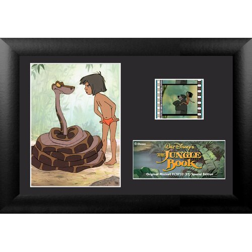 Trend Setters Jungle Book Mini FilmCell Presentation Framed Memorabilia
