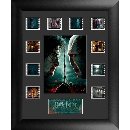Trend Setters Harry Potter 7 Part 2 Mini Montage FilmCell Presentation Framed Memorabilia