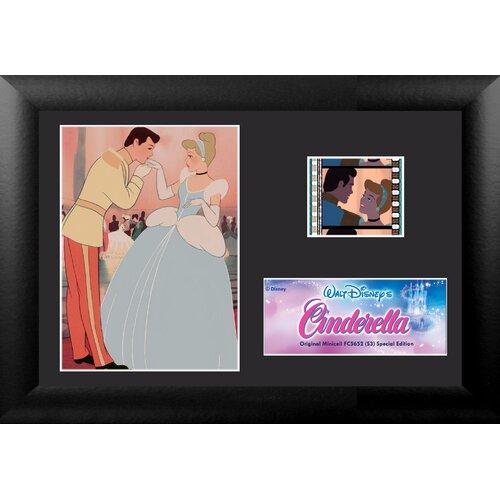 Cinderella Mini FilmCell Presentation Framed Memorabilia