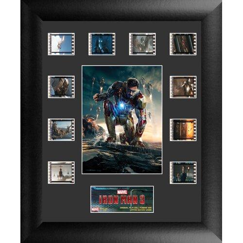 Iron Man 3 Mini Montage FilmCell Presentation FilmCell Presentation Framed Memorabilia