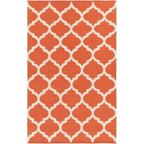 Artistic Weavers Vogue Orange Geometric Everly Area Rug