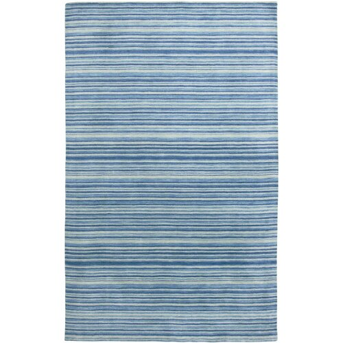 Amer Rugs Marchena Design Royal Blue Hand Woven Area Rug