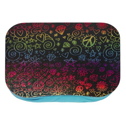 Three Cheers For Girls! Rainbow Doodle Lap Desk