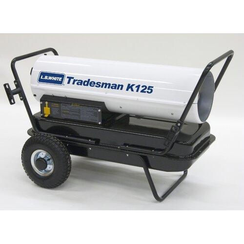 L.B. White Tradesman 125,000 BTU Utility Kerosene Space Heater