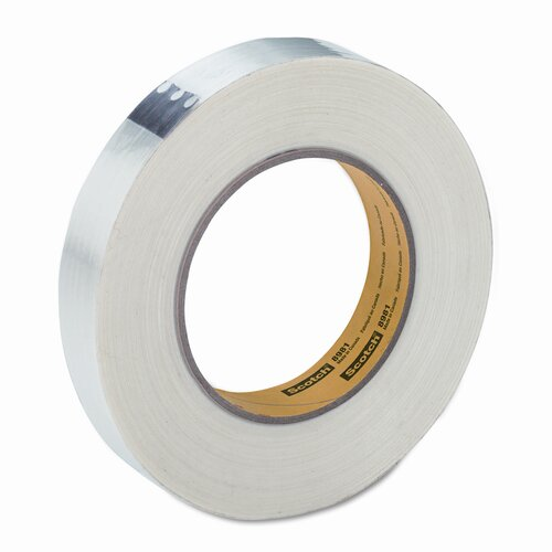 "3M High-Performance Synthetic Rubber Adhesive Filament Tape, 1"" x 60 Yards"