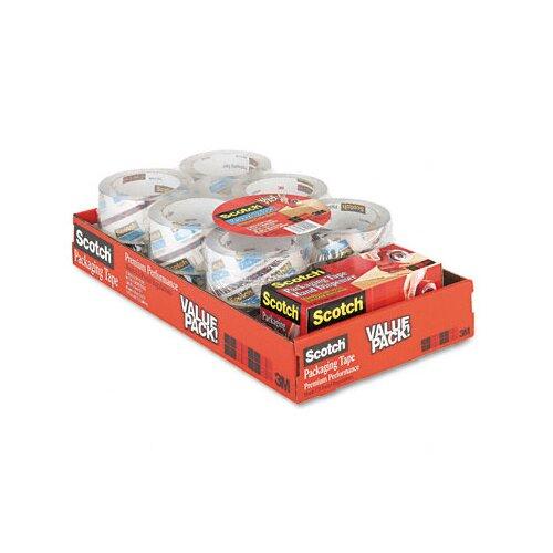 3M Scotch 3850 Heavy Duty Packaging Tape, 12/Box