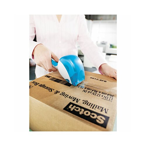 3M Easy Grip Tape Dispenser, 1 Roll 1.88 x 600, 4/PK