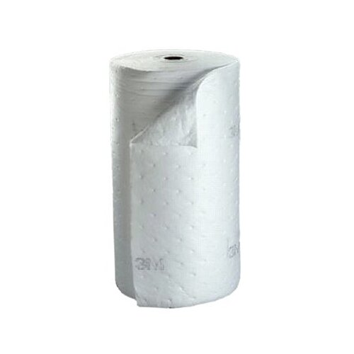 "3M High-Capacity Petroleum Sorbent Rolls - 38""x144'x1/4"" roll powersorb hp oil sorb"