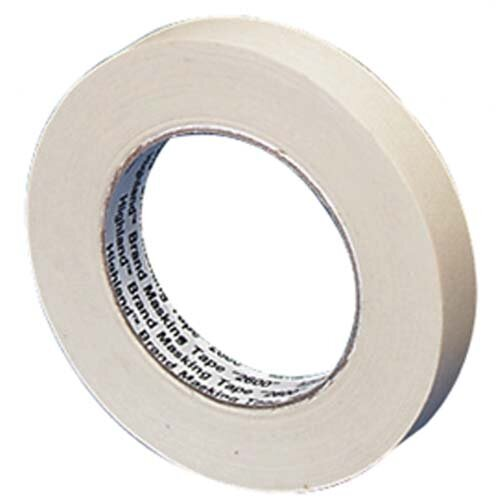 "3M Economy Masking Tape, 3"" Core Size, 1-1/2"" x 60 yards"