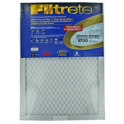 3M Filtrete Ultimate Allergen Reduction Air Filter