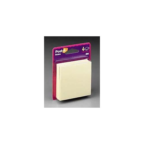 3M 50 Sheet Post-It Note Pad (4 Pack)