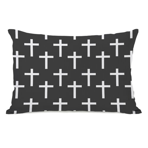 All Over Cross Print Pillow