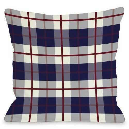American Plaid Pillow