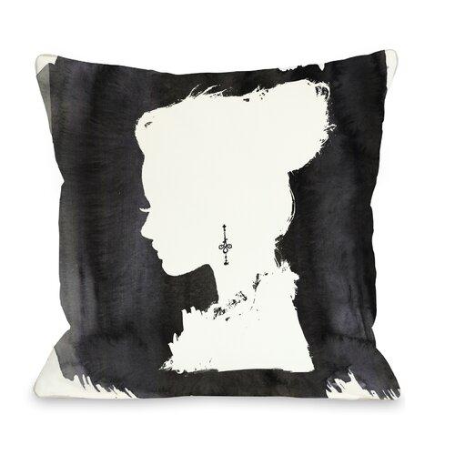 OneBellaCasa.com Oliver Gal Beaute Pillow