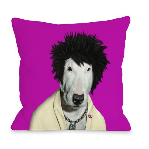 Pets Rock Punk Pillow