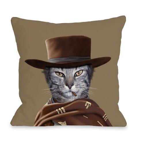 OneBellaCasa.com Pets Rock Western Pillow