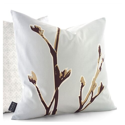 Inhabit Botanicals Axis Suede Throw Pillow