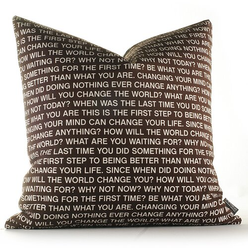Inhabit Graphic Pillows Since When Synthetic Pillow