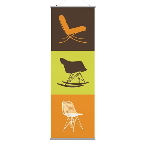 Inhabit Modern Classic 1 Slat Wall Hanging