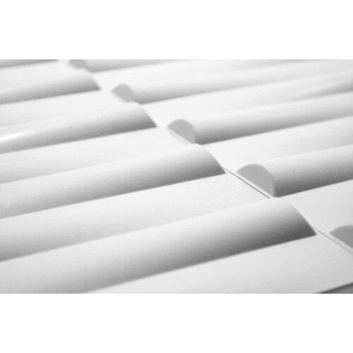 Inhabit Wall Flats Seesaw Stripes 10 Piece Wallpaper