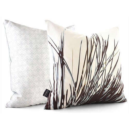 Inhabit Botanicals Thatch Suede Throw Pillow