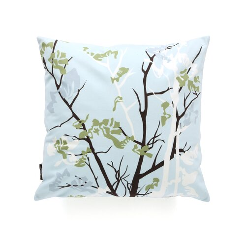 Inhabit Rhythm Ailanthus Suede Throw Pillow