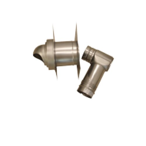 Noritz Single-Wall with Horizontal Termination Vent Kit for Thick Wall