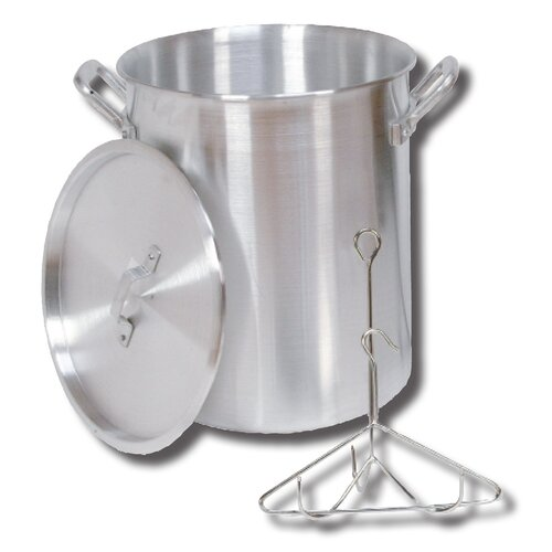 King Kooker Turkey Pot with Lid, Rack and Hook