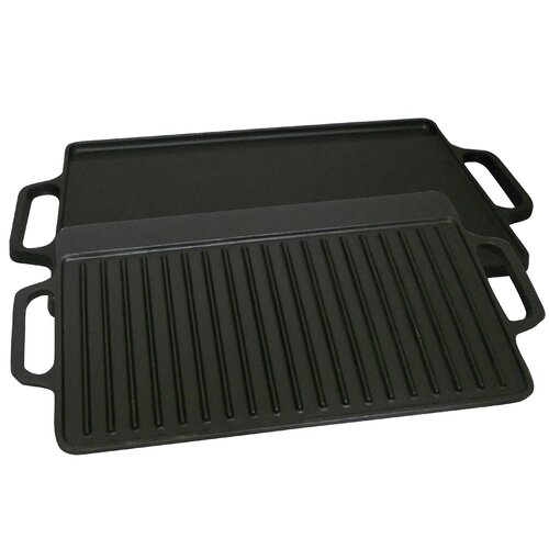 King Kooker Seasoned Reversible Griddle