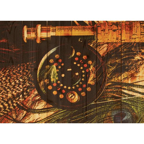 Gizaun Art Fly Reel Photographic Print