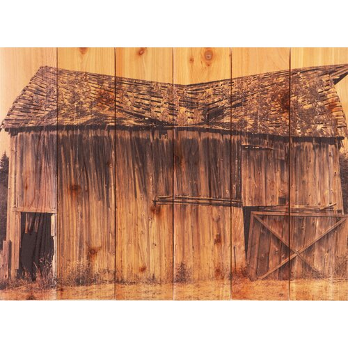 Gizaun Art Old Barn Photographic Print