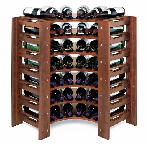Wine Enthusiast Swedish 46 Bottle Wine Rack