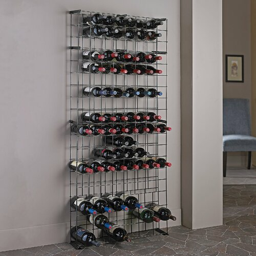 138 Bottle Wine Tie Grid Rack