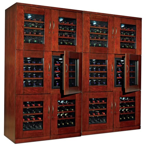 Wine Enthusiast Trilogy Triple Zone Thermoelectric Wine Refrigerator