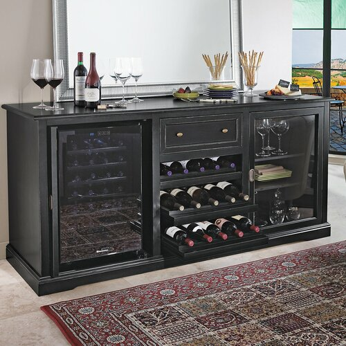 Siena 28 Bottle Dual Zone Wine Refrigerator
