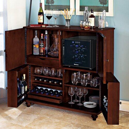 Wine Enthusiast Segreto Bar Cabinet