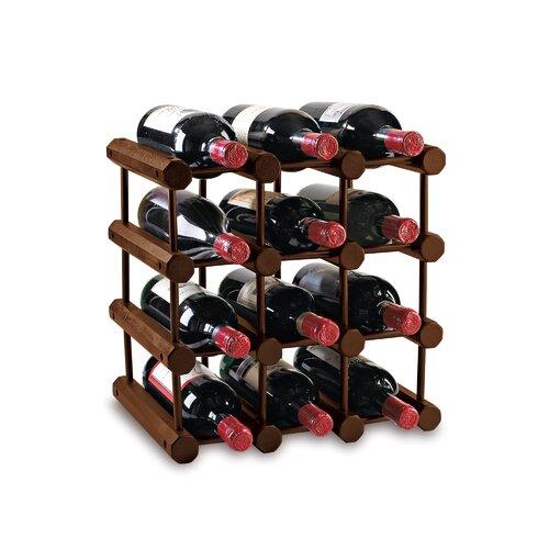 Wine Enthusiast 12 Bottle Wine Rack