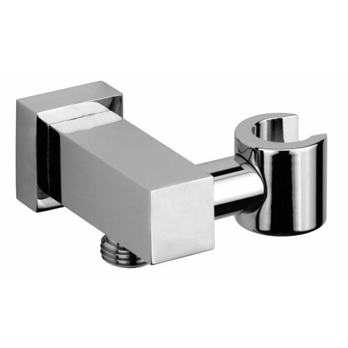 Jewel Faucets Jewel Shower Series Solid Brass Modern Shower Wall Union with Hand Shower Holder