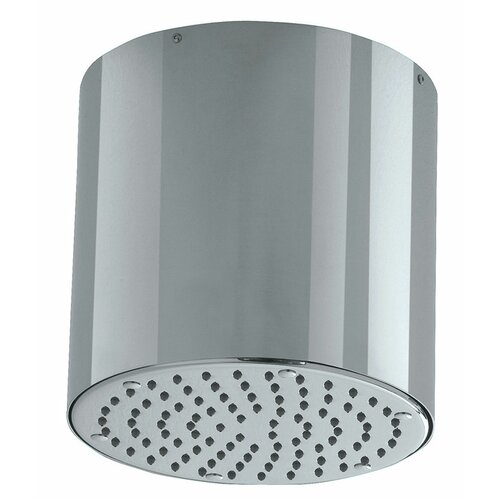 Jewel Faucets Jewel Shower Series Cylinder Ceiling Mount Anti Lime Shower Head