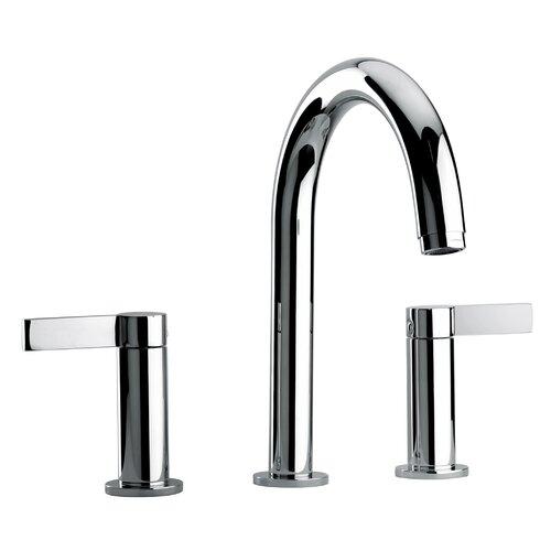 J14 Bath Series Two Lever Handle Roman Tub Faucet with Classic Spout