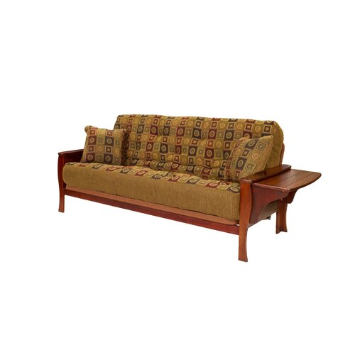 Big Tree Furniture ReFlex Support Series Brewster Full Futon and Mattress