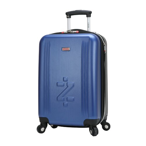 "IZOD Voyager 3.0 20"" Spinner Expandable Carry-On Suitcase"