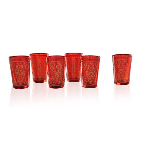 Moroccan Tea Glass (Set of 6)