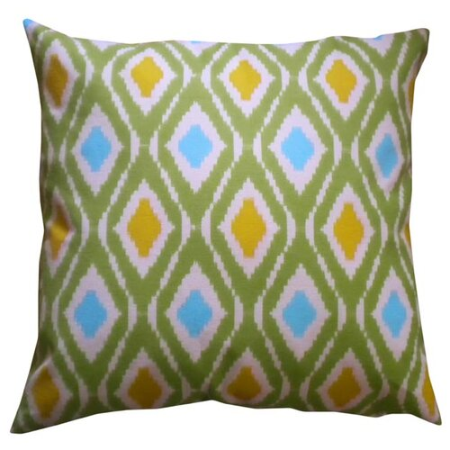 Geo Ikat Pillow