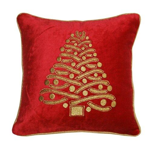 Divine Designs Christmas Tree Pillow