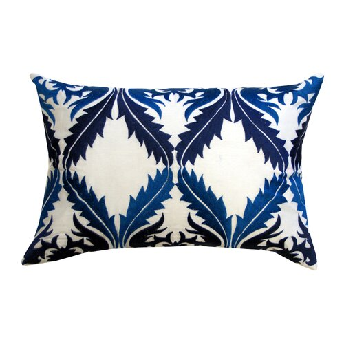 Divine Designs Vibrant Vines Cotton Lumbar Pillow