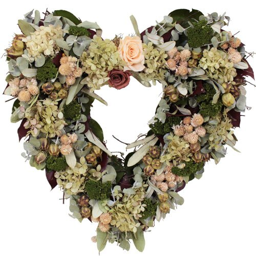 Urban Florals Spring / Everyday Coral Charm Wreath