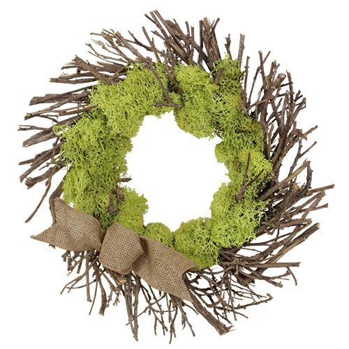 Spring / Everyday Urban Moss Wreath