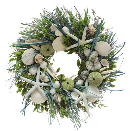 Urban Florals Summer Ocean Potion Wreath
